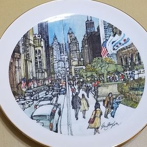 1976 Limited Edition Chicago Collection Plate